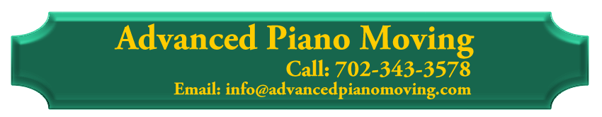Advance Piano Moving Logo